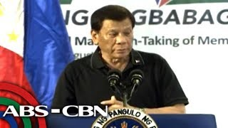 LIVE: President Rodrigo Duterte speaks at a 'Hugpong ng Pagbabago' event in Davao | 17 August 2018