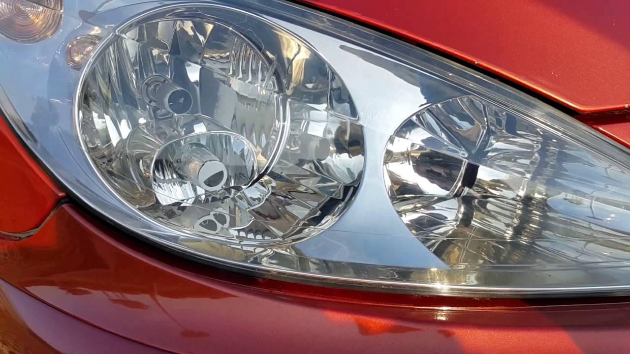 Peugeot 307 Sw Polerowanie Lamp Efekt
