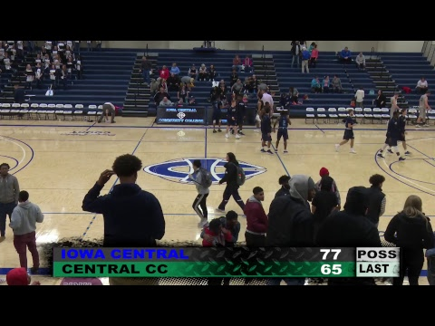 Great Western Shootout Men's Basketball: Iowa Central vs Central CC -Columbus (12/01/2017)