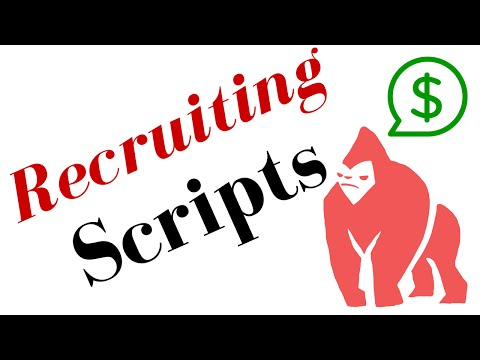 Network Marketing Recruiting Scripts - 28 Reps In 21 Days
