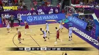Türkiye-Büyük Britanya  Basketbol Maçı   EuroBasket 2017 Özet İzle