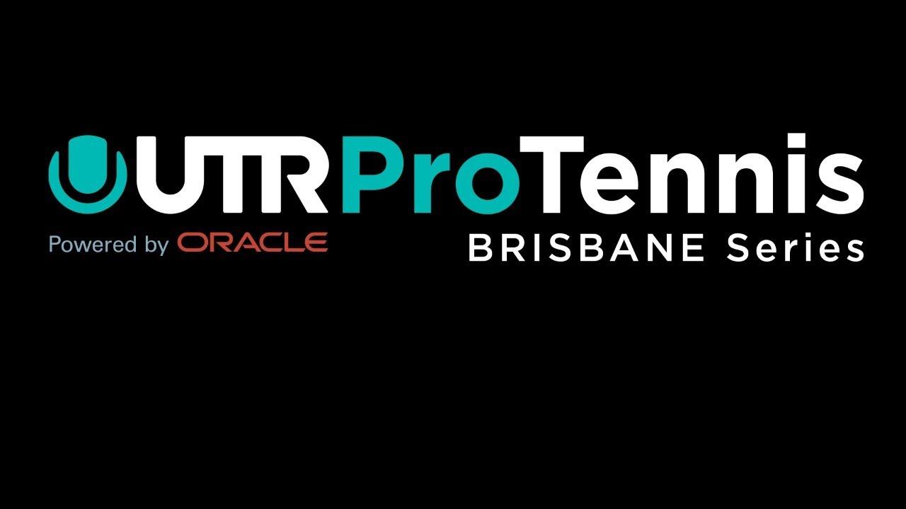 UTR Pro Tennis Series - Brisbane - Thursday 3rd September