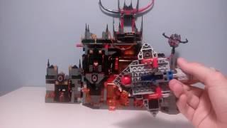 LEGO Nexo Knights Wulkaniczna Kryjówka Jestro nr. 70323 recenzja