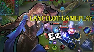 THIS HOW TO WIN IN RANKED MATCH USING LANCELOT! 100%PRO (LANCELOT GAMEPLAY MOBILE LEGENDS)