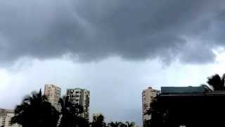 Rumble of thunder near Waikiki 3/29/14
