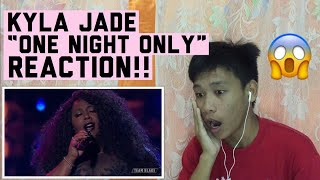 Kyla Jade - One Night Only | The Voice 2018 Top 12 (REACTION)