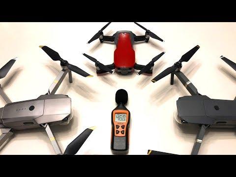 Mavic Air vs Mavic Pro Sound Test