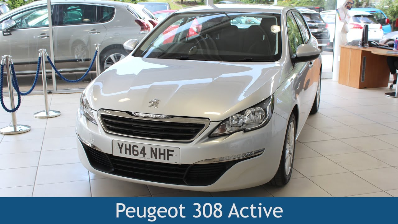 peugeot 308 active 2015 review - youtube
