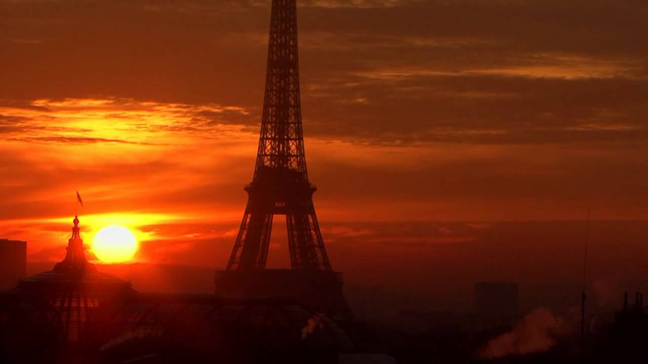 En hd coucher de soleil sur la tour eiffel hiver 2007 2008 youtube - Coucher de soleil sur paris ...
