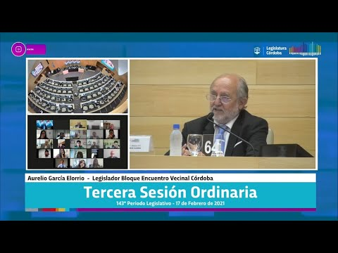 Tercera Sesión Ordinaria 143 Periodo Legislativo - 17 de Febrero 2021