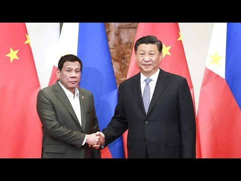 Chinese President Xi Jinping meets Philippine president in Beijing
