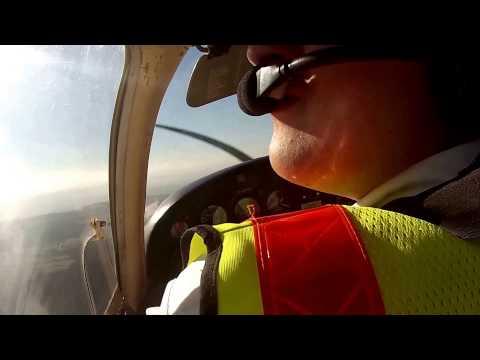 Flight around north Bristol