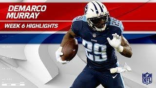 Check out player highlights from Tennessee Titans running back DeMa...