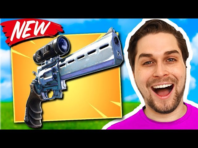 Nieuwe Scoped Revolver = WIN! 😍 - Fortnite Battle Royale (Nederlands) met Duncan