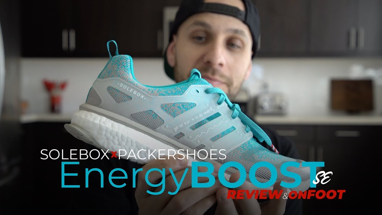 big sale 253a9 2899e PACKER X SOLEBOX ADIDAS ENERGY BOOST UNBOXING  REVIEW