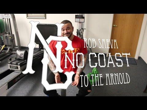 Rob Saeva No coast to the Arnold - Ep. 2 Whats in the bag?! (XPC Arnold 2017)