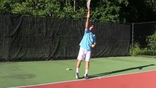 Tennis Tip - Tennis Serve - Finally Understand how to Hit a Better Spin Serve
