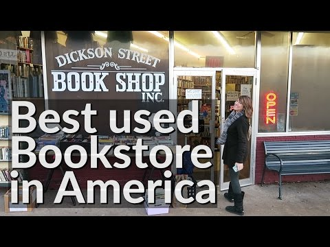 Best Used Bookstore in America | VLOG | Kendrick Disch