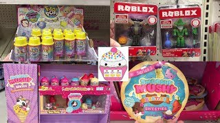 Toy Hunt #125: Smooshy Squishies Mushy PikiMi Pops PushMi ups Roblox LOL glitter surpresa Hatchimals