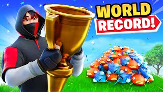 Breaking a Fortnite WORLD RECORD!