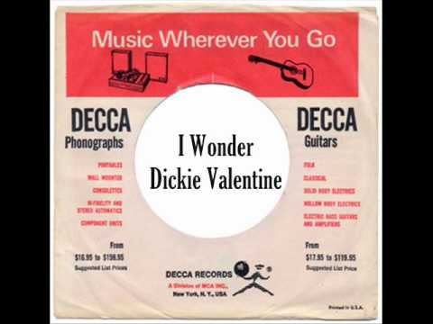 Dickie Valentine - I Wonder ( 1955 )