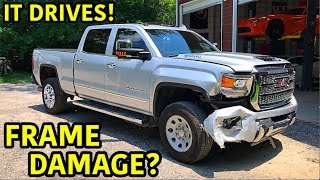 Rebuilding A Wrecked 2019 GMC Duramax Part 2