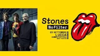 Solo a Lucca i Rolling Stones in concerto per il nofilter tour 2017