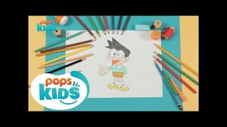 Cách Vẽ Suneo Honekawa Phim Hoạt Hình Doraemon | Siêu Nhân Bút Chì Hướng Dẫn Vẽ Tập 181