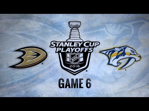 Predators edge Ducks, 3-1, force Game 7