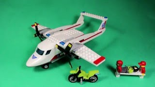 Lego City - Ambulance Plane, 60116/ Лего Сити - Самолет Скорой Помощи, артикул 60116.