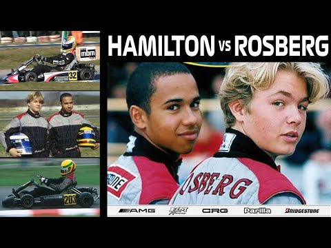 Lewis Hamilton vs Nico Rosberg | Karting World Cup 2000