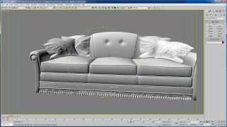 06 - Уроки 3d max для дизайнеров - Предметы мебели Edit mesh