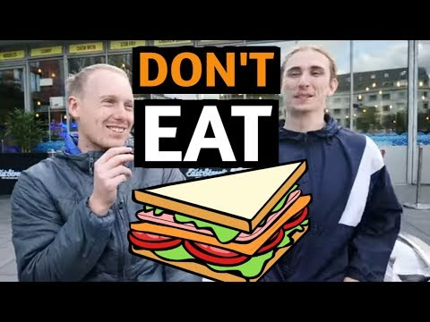 Don't Eat Sandwiches or You'll go to Hell | Off The Kirb Street Interviews