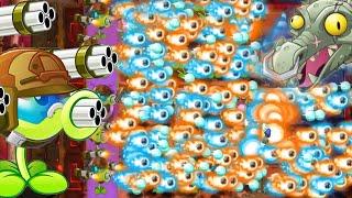 Plants Vs Zombies 2 - The Most Powerful Peashooter Gatling Pea! PvZ 2