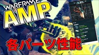 【Warframe】オペレーター専用武器の入手と各AMPパーツの性能がすごい