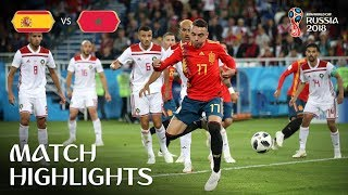 Spain v Morocco | 2018 FIFA World Cup | Match Highlights