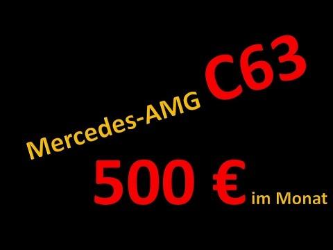 LEASING Kracher - Neuer C63 AMG für nur 500 € im Monat!!!!