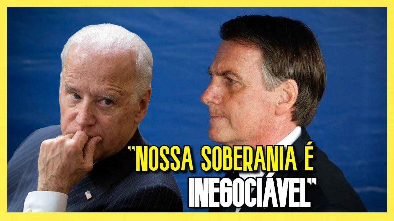 BOLSONARO RESPONDE JOE BIDEN