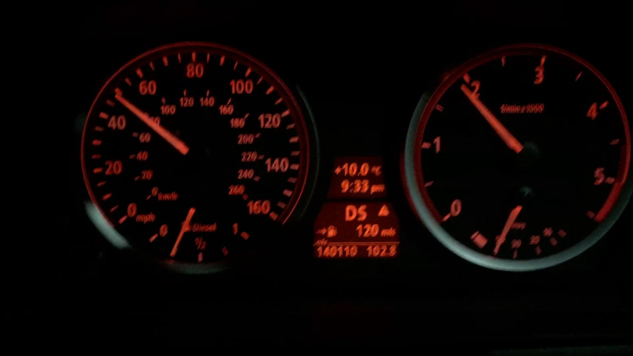 BMW 530d acceleration with injector problems