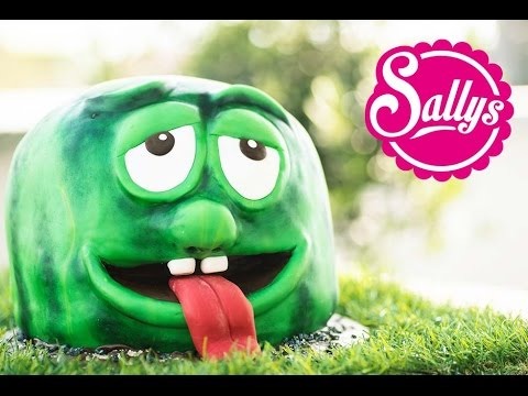Galileo 3 D Fondanttorte Walter Watermelon / Motivtorte / Wassermelone / Sallys Welt