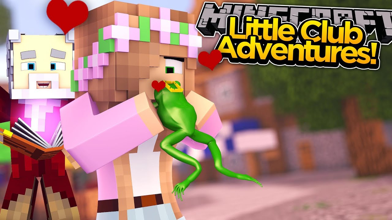 Minecraft little club adventures little kelly kisses her - The little club ...