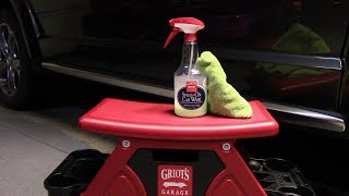 Griot's Garage Spray on Car Wash Review