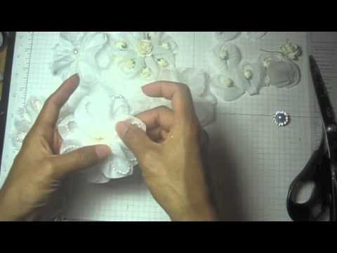 DIY:Easy to make Petal flowers tutorial by SaCrafters
