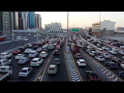 Traffic block dubai 2