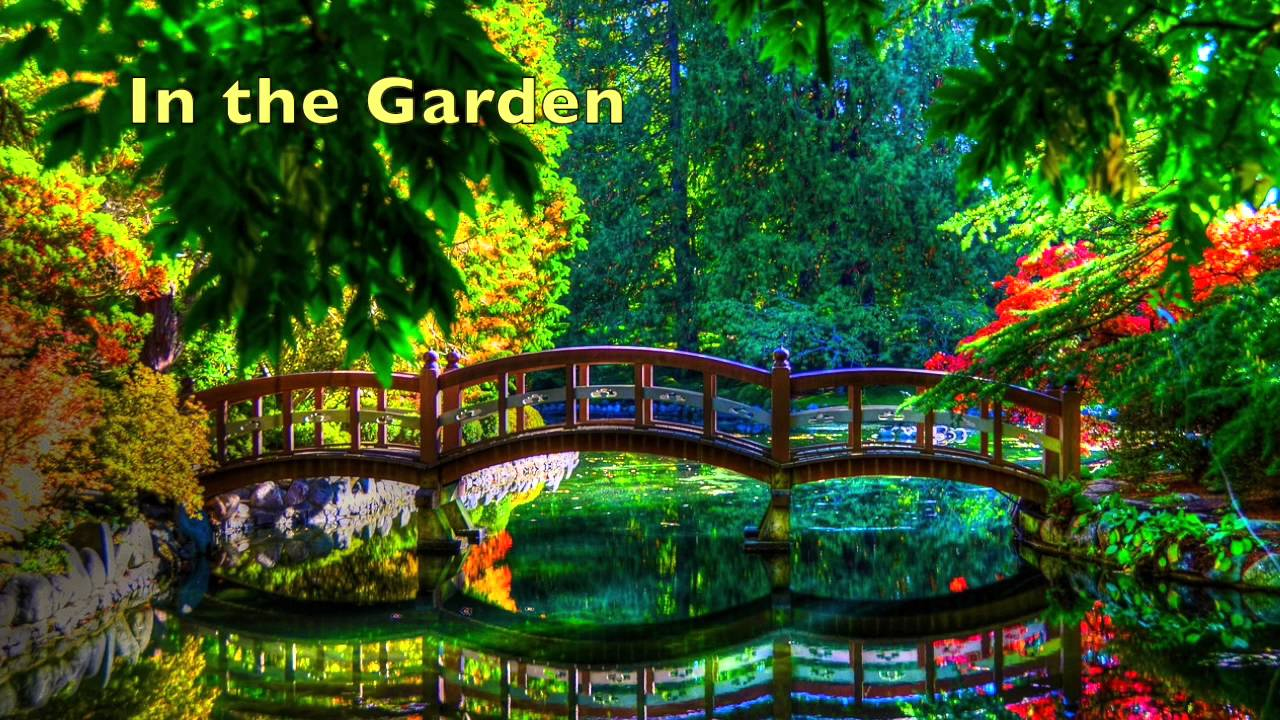 in the garden piano hymn arrangement youtube