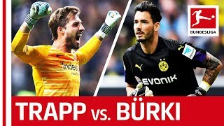 Kevin Trapp vs. Roman Bürki - Top-Class Keepers Go Head-to-Head