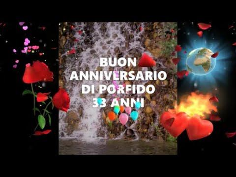 Anniversario Matrimonio 33 Anni.Buon Anniversario Nozze Di Porfido 33 Anni Di Matrimonio