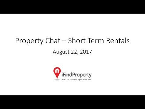 Property Chat: Short-term rental investment
