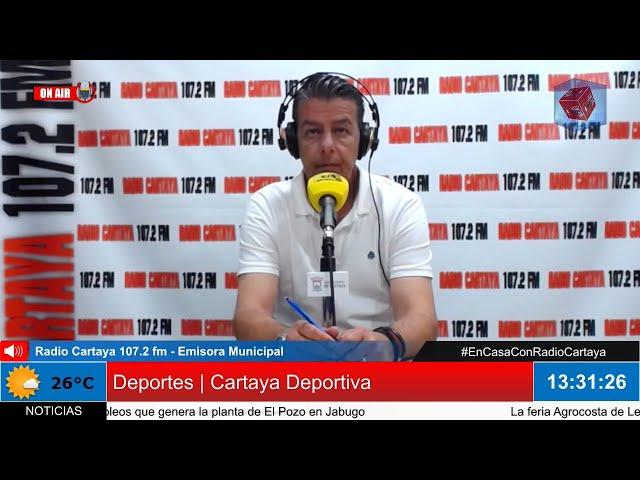 Radio Cartaya | Cartaya Deportiva (18-06-2020)
