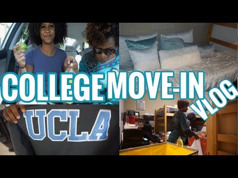 COLLEGE MOVE IN DAY VLOG 2017 // UCLA